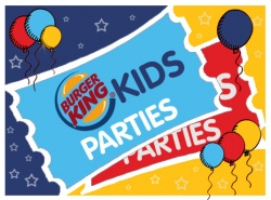 Poole Fluming party with BK Splash Kids meal - �15.30 per person