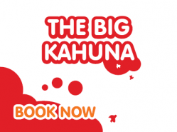 The Big Kahuna Birthday Party £27 per person; with a £40 deposit
