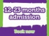 Lemur Landings - Weekend Session 3 - Child Admission 12 - 23 months old