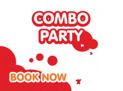 Splashdown and Lemur Landings Ultimate Combo Party - £24.50 per person - December