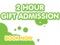 2 Hour Single Admission Gift Voucher